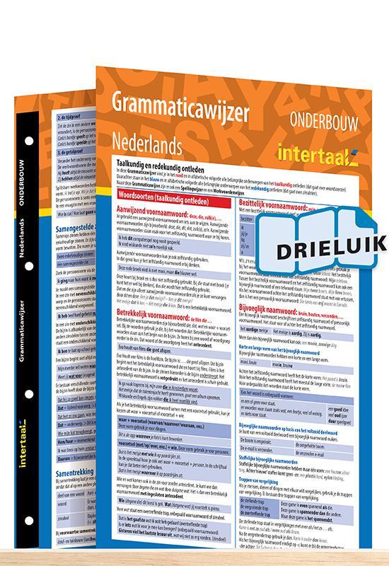 Afbeelding van Grammaticawijzer Nederlands onderbouw uitklapkaart