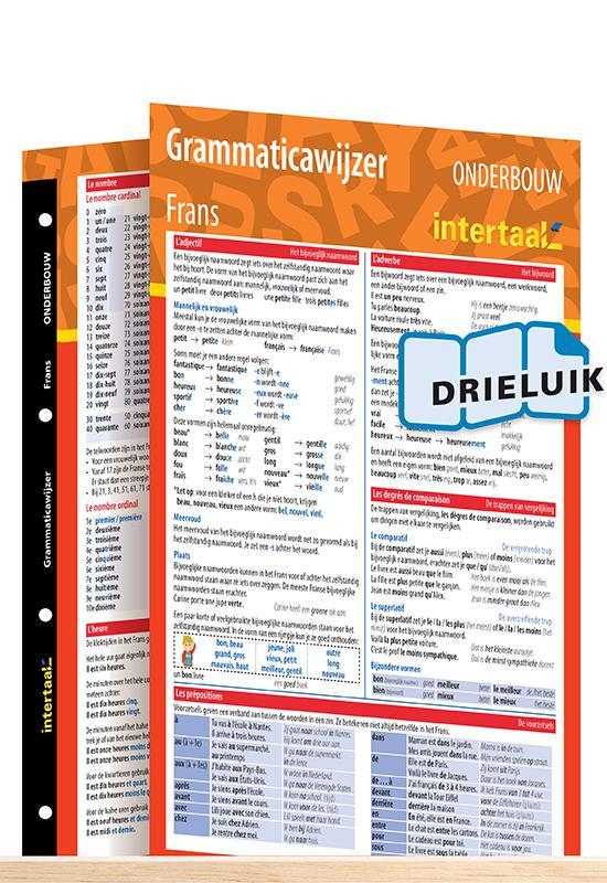 Afbeelding van Grammaticawijzer Frans onderbouw uitklapkaart
