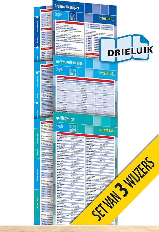 Afbeelding van Wijzers Engels - nieuwe editie (set van 3) uitklapkaarten