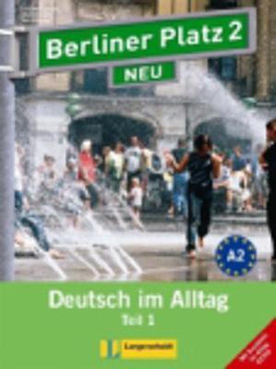 Afbeelding van Berliner Platz 2 NEU in Teilbänden 1 Lehr-/Arbeitsbuch + Audio-CD Arbeitsbuch