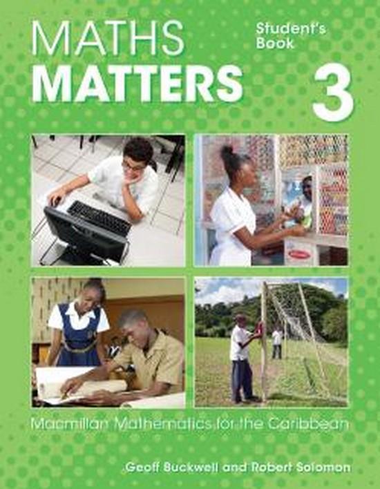 Afbeelding van Maths matters 3 student's book