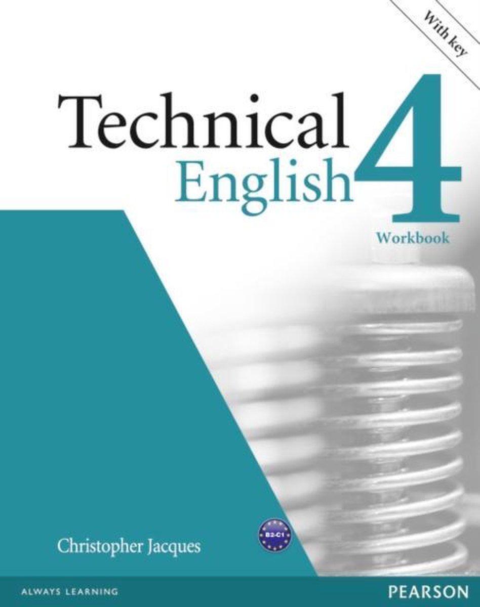 Afbeelding van Technical English - Upper-intermediate 4 workbook with key + cd-rom