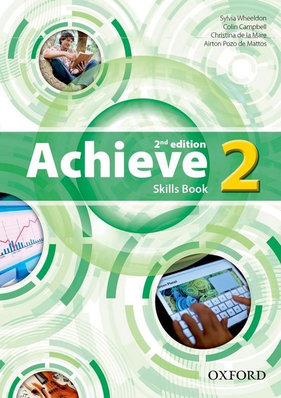 Afbeelding van Achieve - 2nd edition 2 skills book