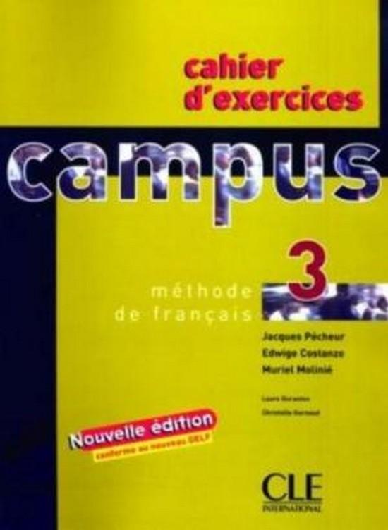 Afbeelding van Campus 3 cahier d'exercices