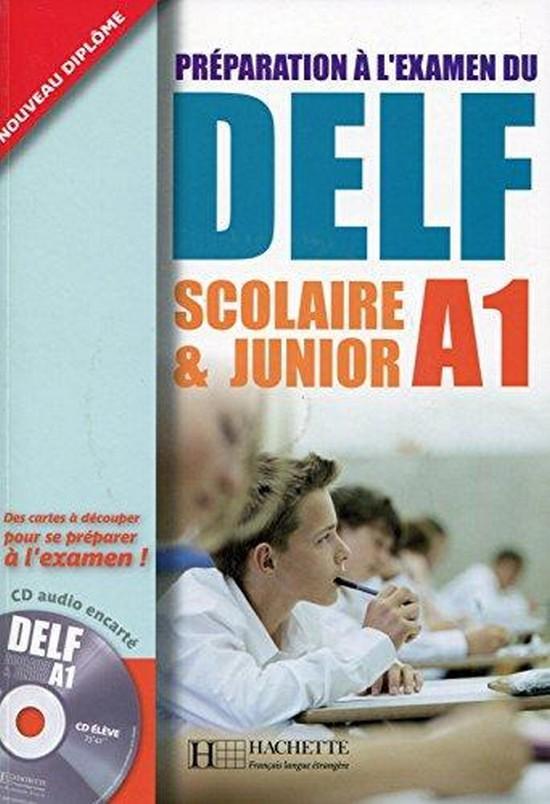 Afbeelding van Préparation à l'examen du DELF Scolaire et Junior A1 livre + cd-audio