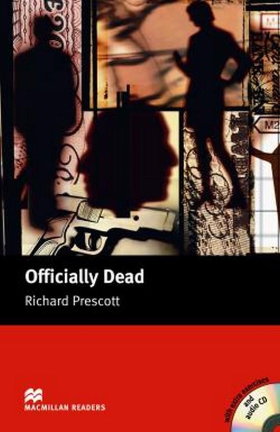 Afbeelding van Macmillan Readers - Upper-intermediate: Officially Dead book + audio-cd