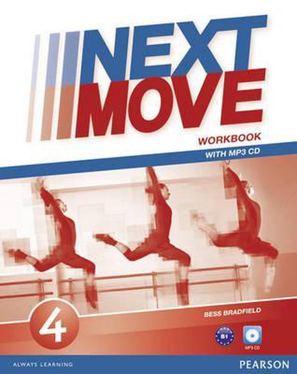 Afbeelding van Next Move 4 workbook + mp3 audio pack