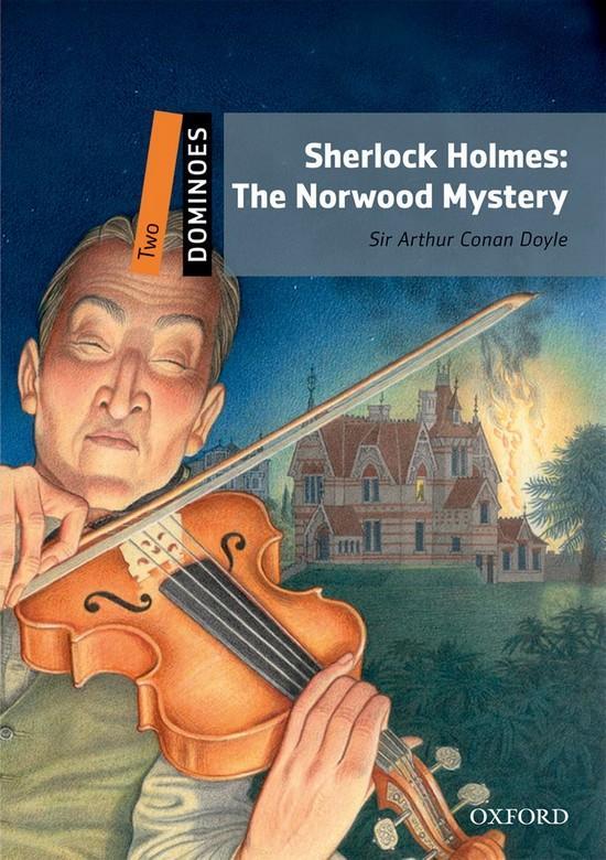 Afbeelding van Dominoes 2: Sherlock Holmes : The Norwood Mystery book + cd-rom's (2x)