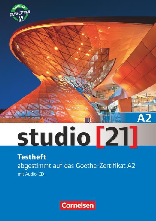 Afbeelding van Studio 21 A2 Testheft + audio-cd