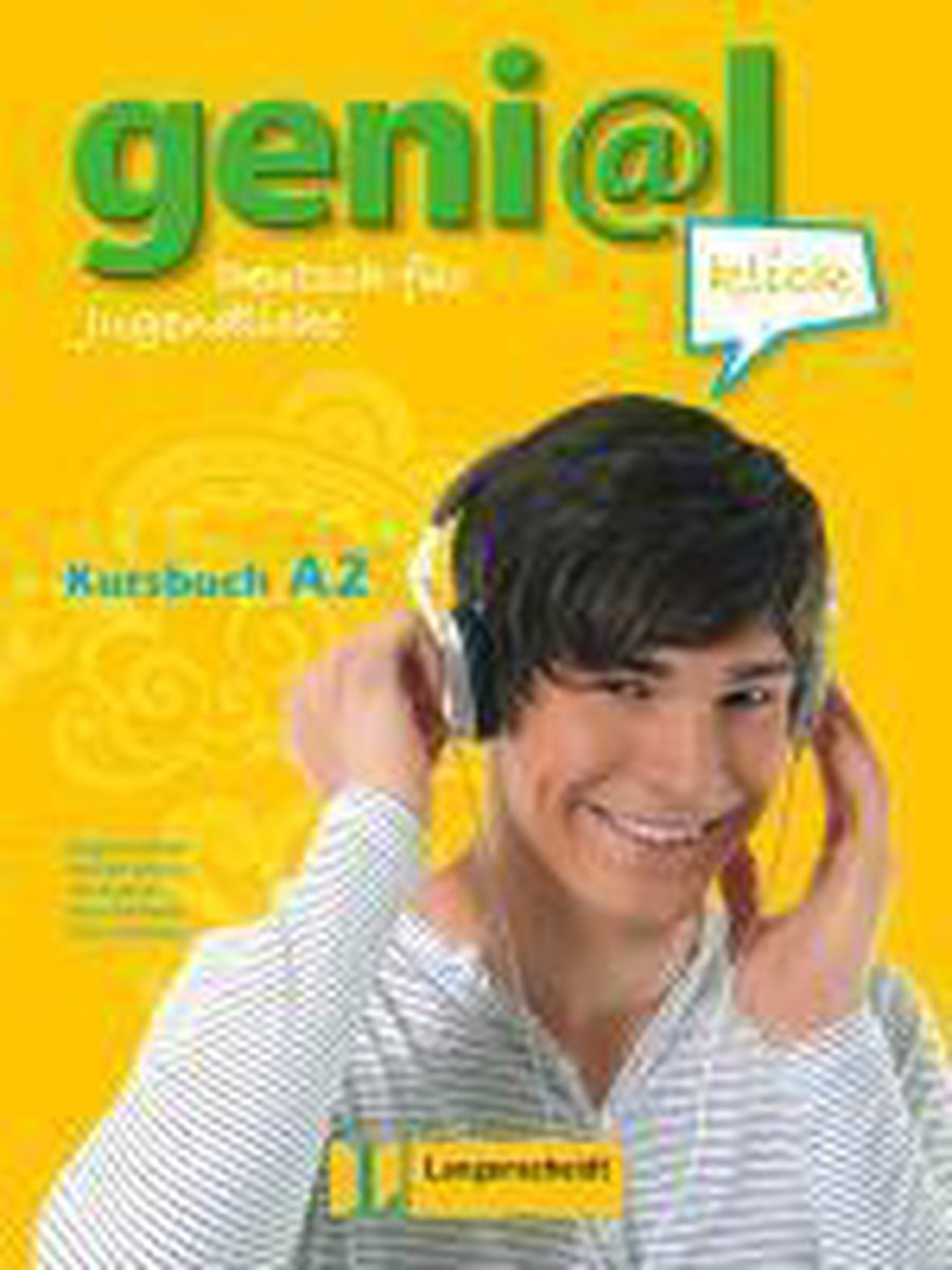 Afbeelding van Geni@l Klick A2 Kursbuch + 2 Audio-CDs