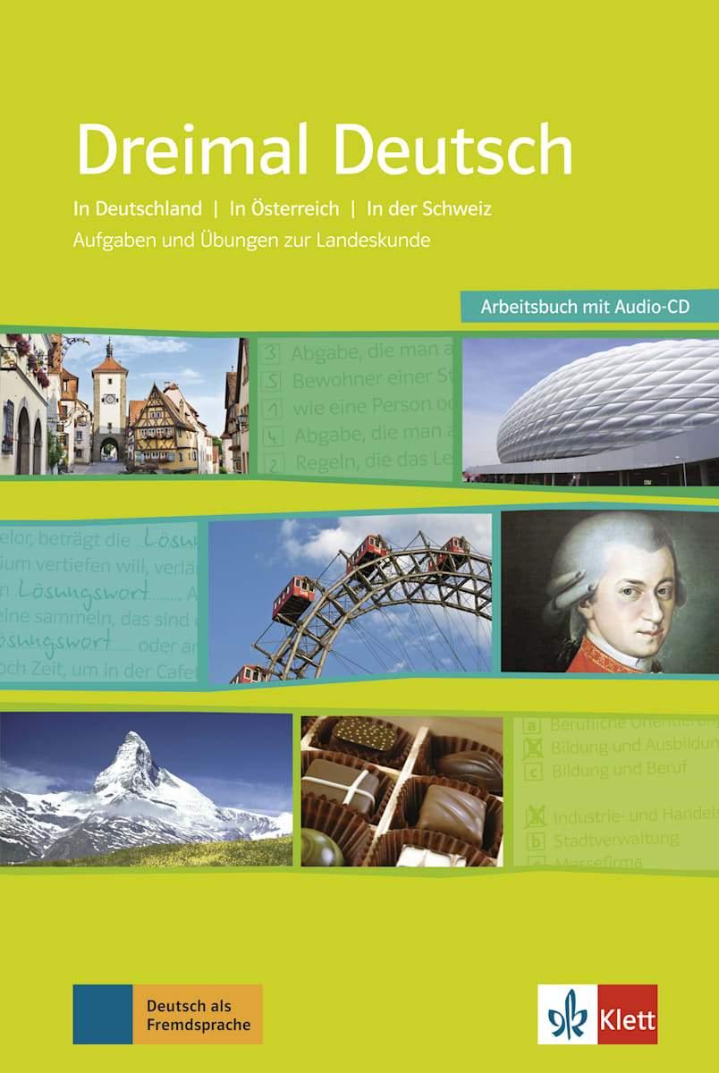 Afbeelding van Dreimal Deutsch Arbeitsbuch + Audio-CD