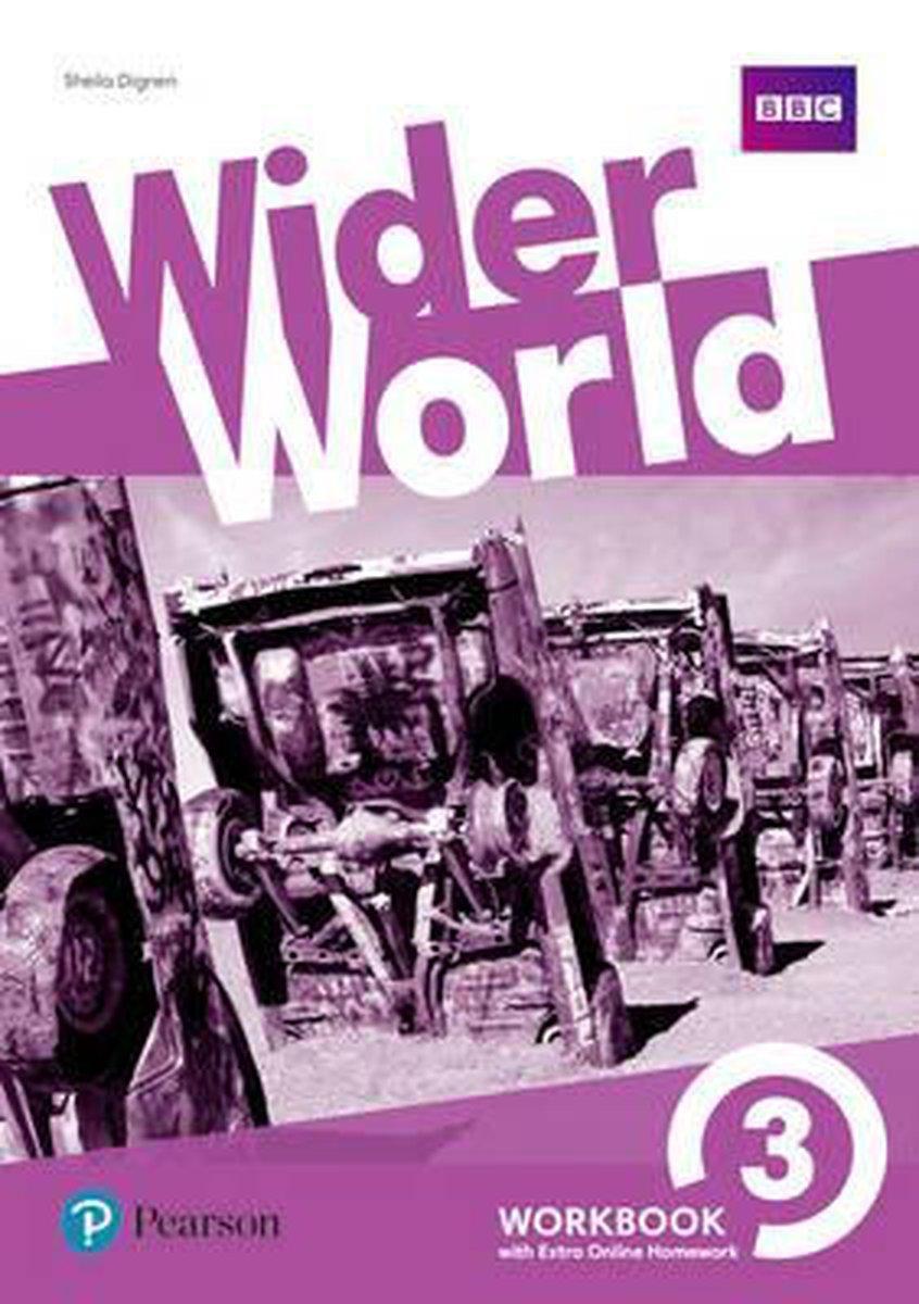Afbeelding van Wider World 3 Workbook with Extra Online Homework Pack