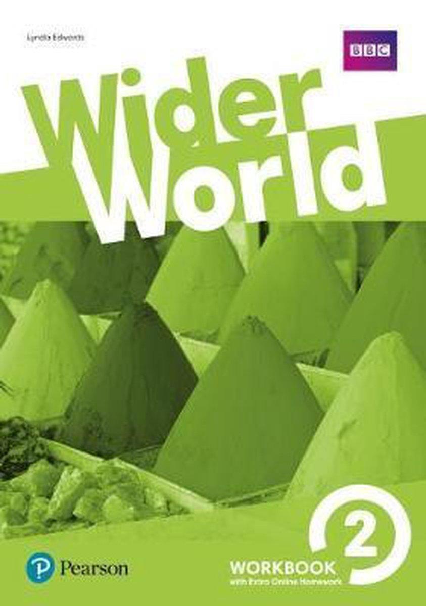 Afbeelding van Wider World 2 Workbook with Extra Online Homework Pack