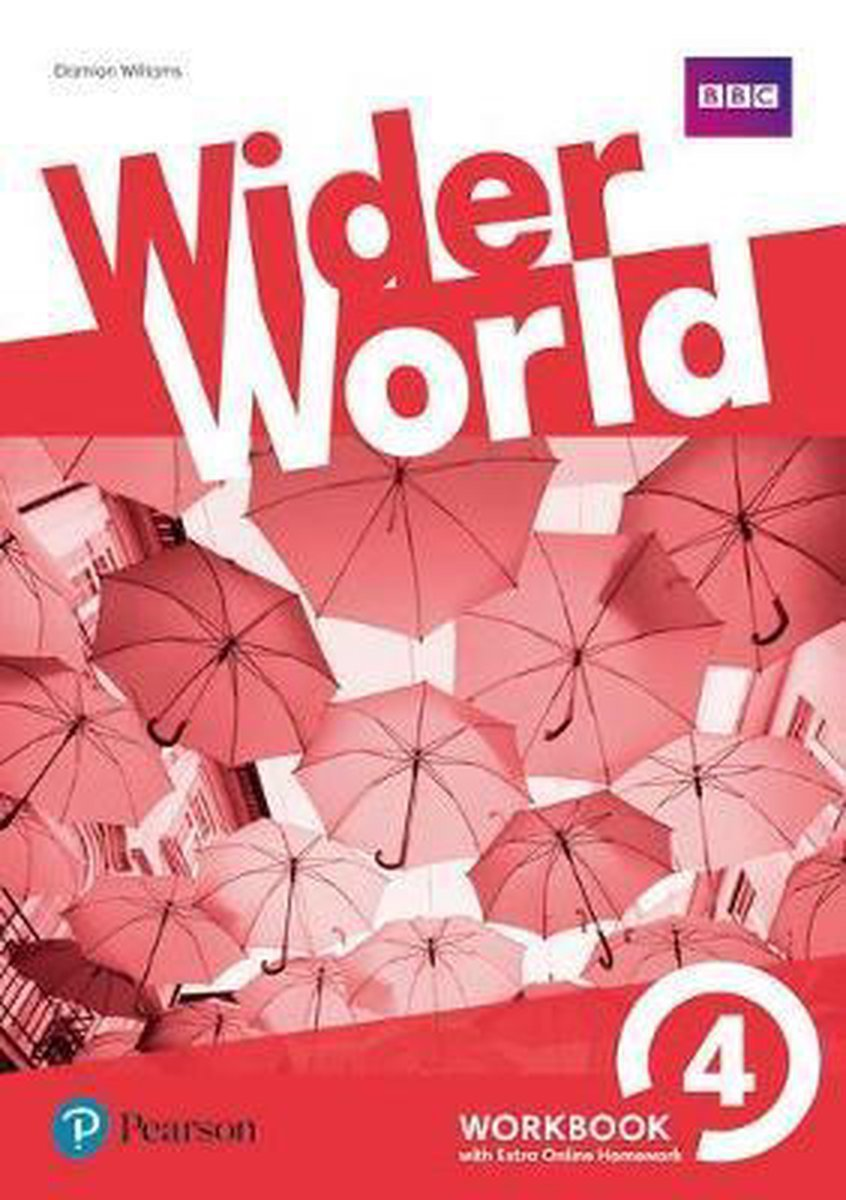Afbeelding van Wider World 4 Workbook with Extra Online Homework Pack
