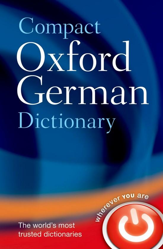 Afbeelding van Compact Oxford German Dictionary