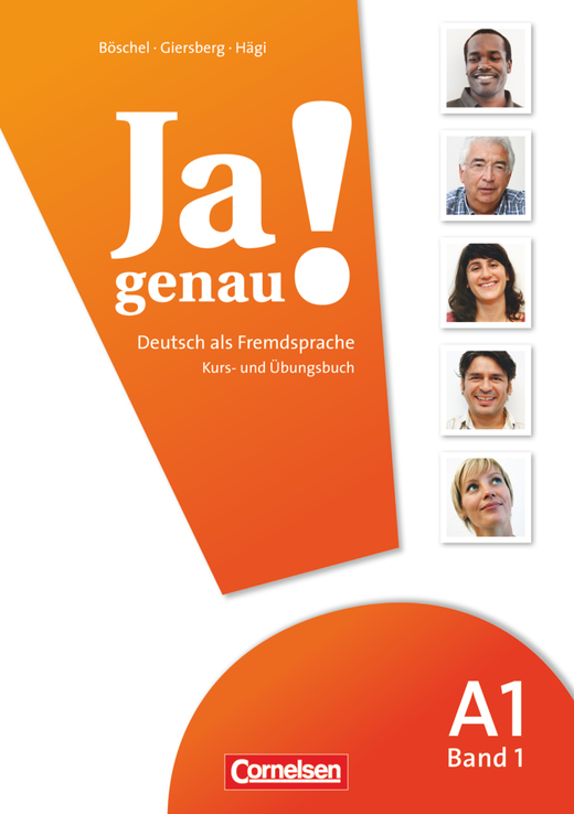 Afbeelding van Ja genau! A1: Band 1 Kurs-/Übungsbuch + Lösungen und Audio-CD