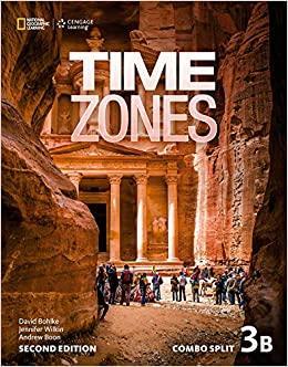 Afbeelding van Time Zones - second edition 3B combo split with online workbook