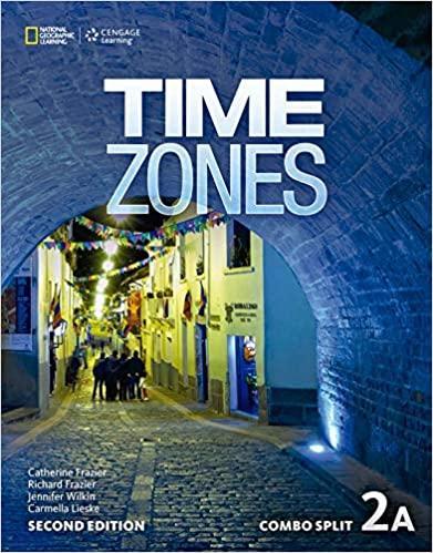 Afbeelding van Time Zones - second edition 2A combo split with online workbook