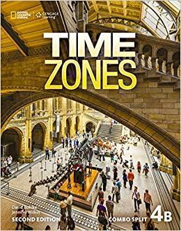 Afbeelding van Time Zones - second edition 4B combo split with online workbook