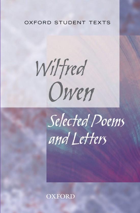 Afbeelding van Oxford Student Texts: Wilfred Owen: Selected Poems