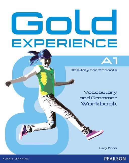 Afbeelding van Gold Experience A1 grammar&vocabulary workbook without key