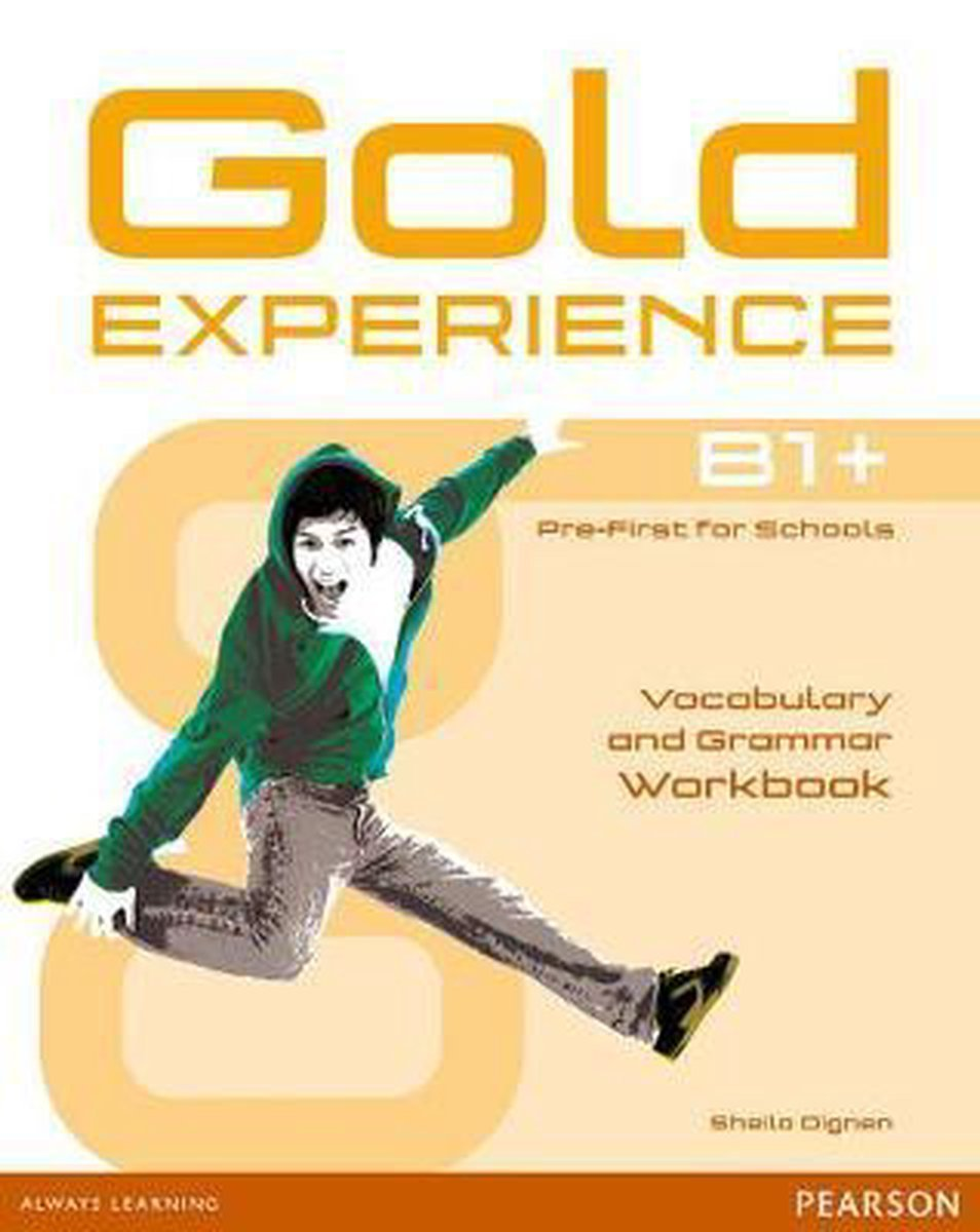 Afbeelding van Gold Experience B1+ workbook without key