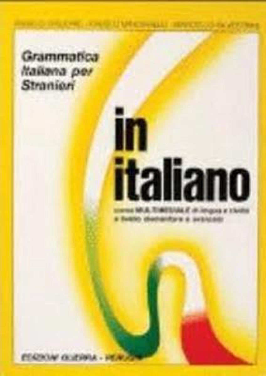 Afbeelding van In italiano grammatica italiana per stranieri 2