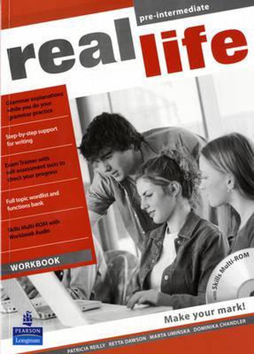 Afbeelding van Real Life Global - Pre-intermediate workbook + multi-rom pack