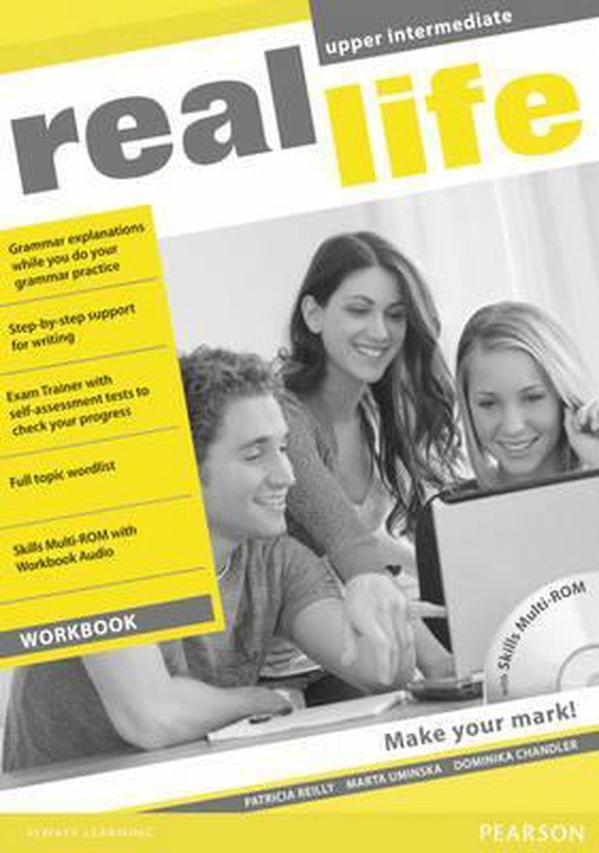 Afbeelding van Real Life Global - Upper-intermediate workbook + multi-rom pack