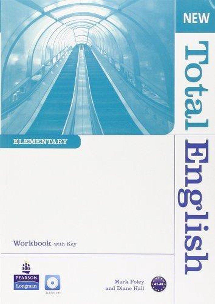 Afbeelding van Total English New - Elementary workbook with key + cd pack