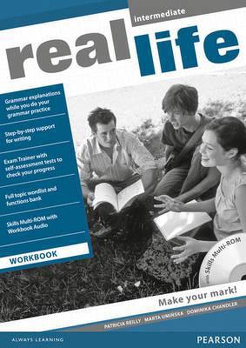 Afbeelding van Real Life Global - Intermediate workbook + multi-rom pack