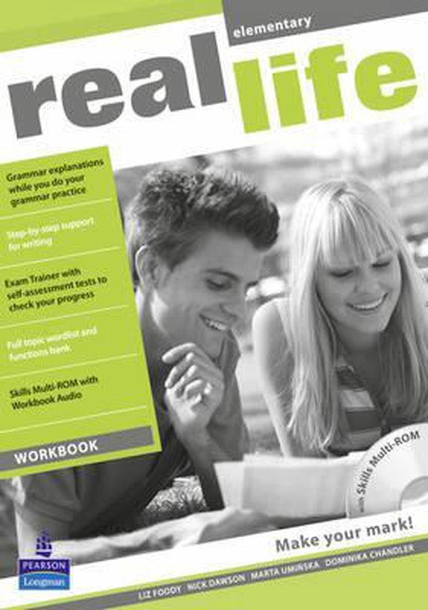 Afbeelding van Real Life Global - Elementary workbook + multi-rom pack
