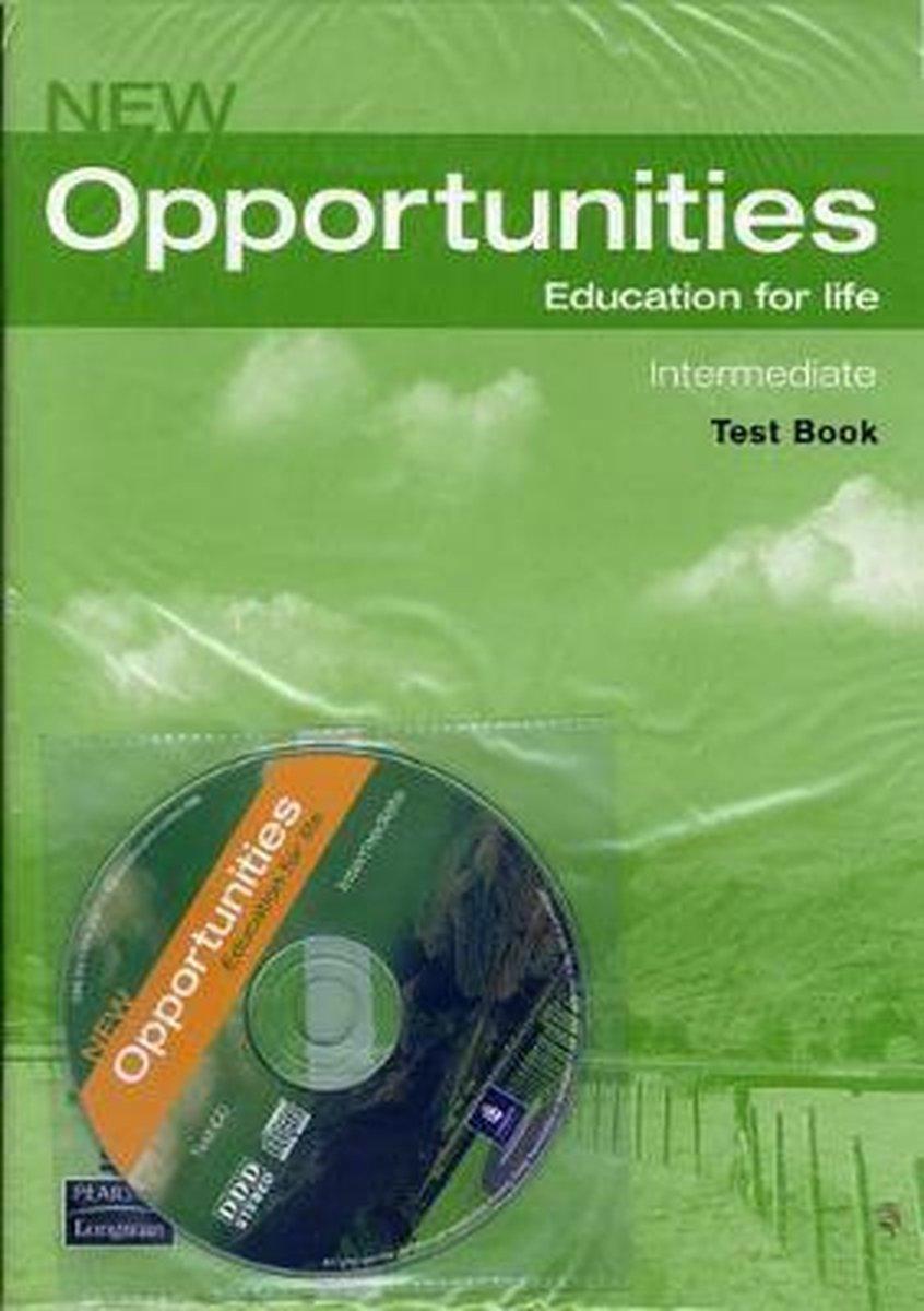 Afbeelding van New Opportunities - Intermediate test book + audio-cd