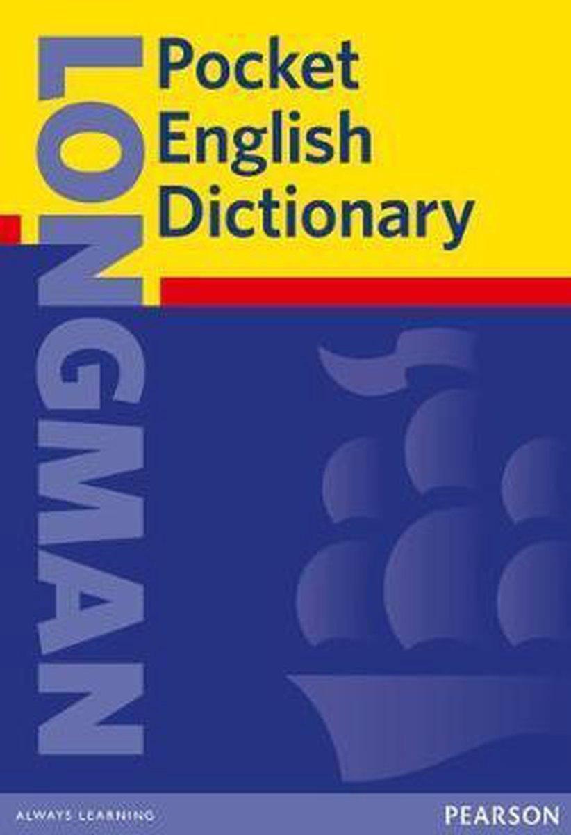 Afbeelding van Longman Pocket English Dictionary