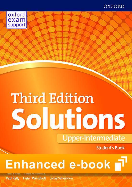 Afbeelding van Solutions Third Edition - Upper-Intermediate (olb) Online Student's Book