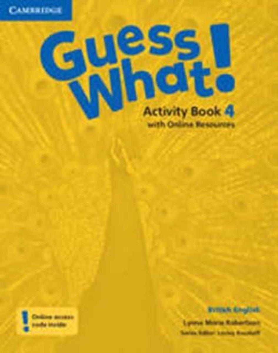 Afbeelding van Guess What! 4 Activity Book + Online Resources