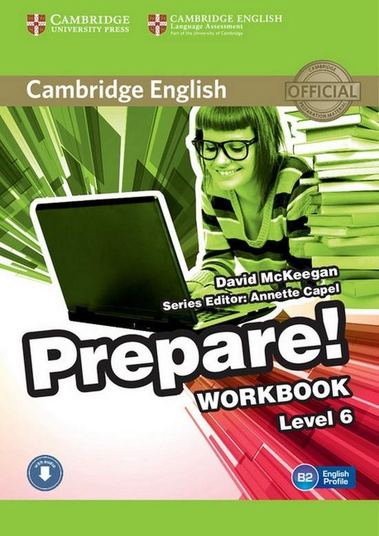 Afbeelding van Cambridge English Prepare! 6 workbook + audio download