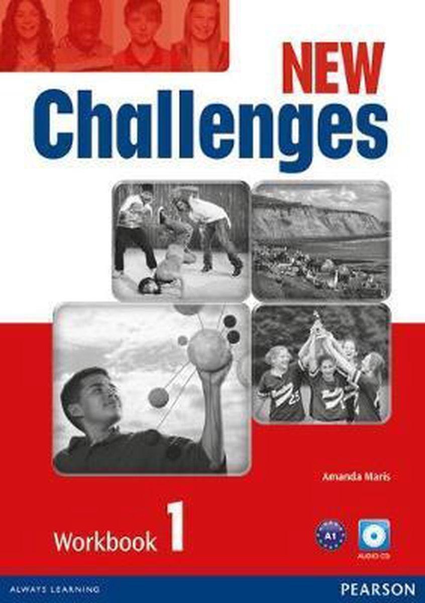Afbeelding van New Challenges 1 workbook + audio-cd