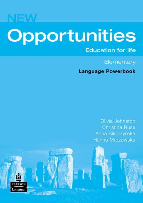 Afbeelding van New Opportunities - Elementary language powerbook NE