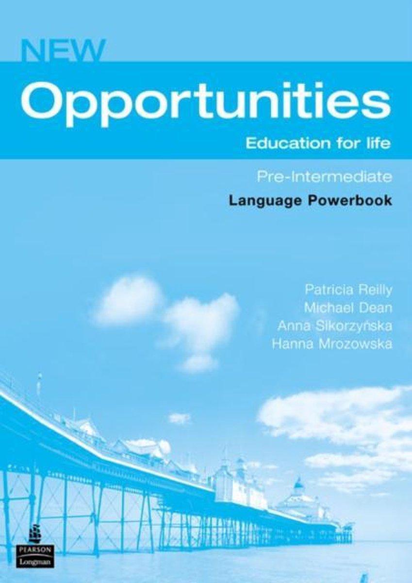 Afbeelding van New Opportunities - Pre-intermediate language powerbook