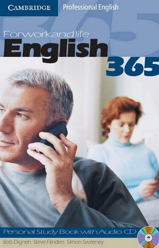 Afbeelding van English 365 1 personal study book + audio-cd