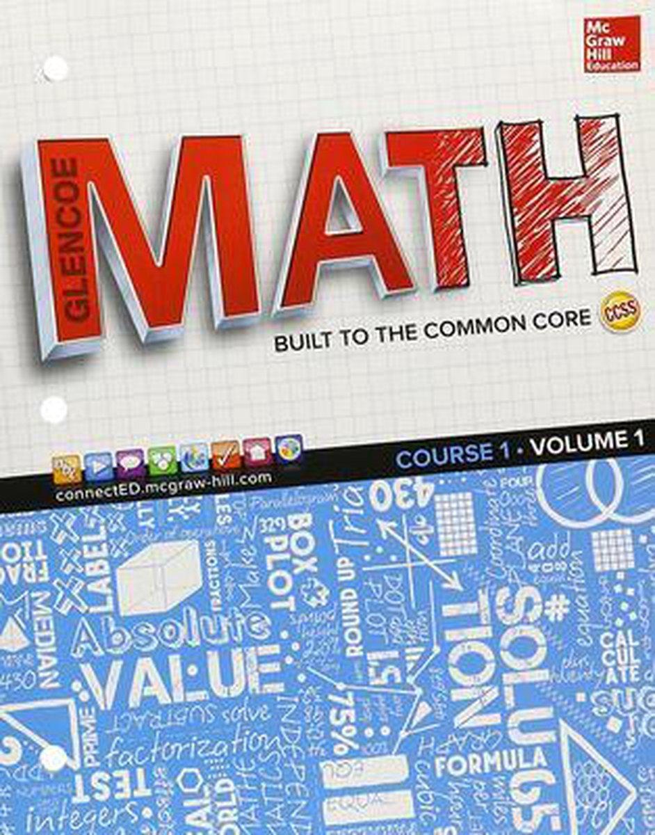 Afbeelding van Glencoe Math, Course 1 1 Student's book