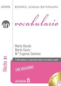 Afbeelding van Vocabulario - Nivel Medio B1 libro + cd-audio