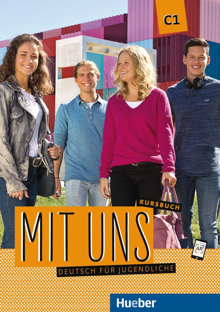 Afbeelding van Mit uns C1: Deutsch für Jugendliche.Deutsch als Fremdsprache Kursbuch