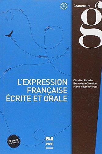 Afbeelding van L'expression fracaise ecrite et orale