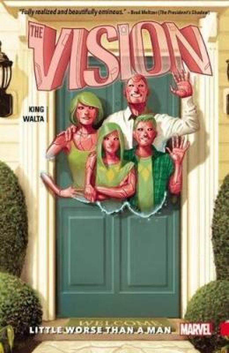 Afbeelding van Vision Vol. 1: Little Worse Than A Man