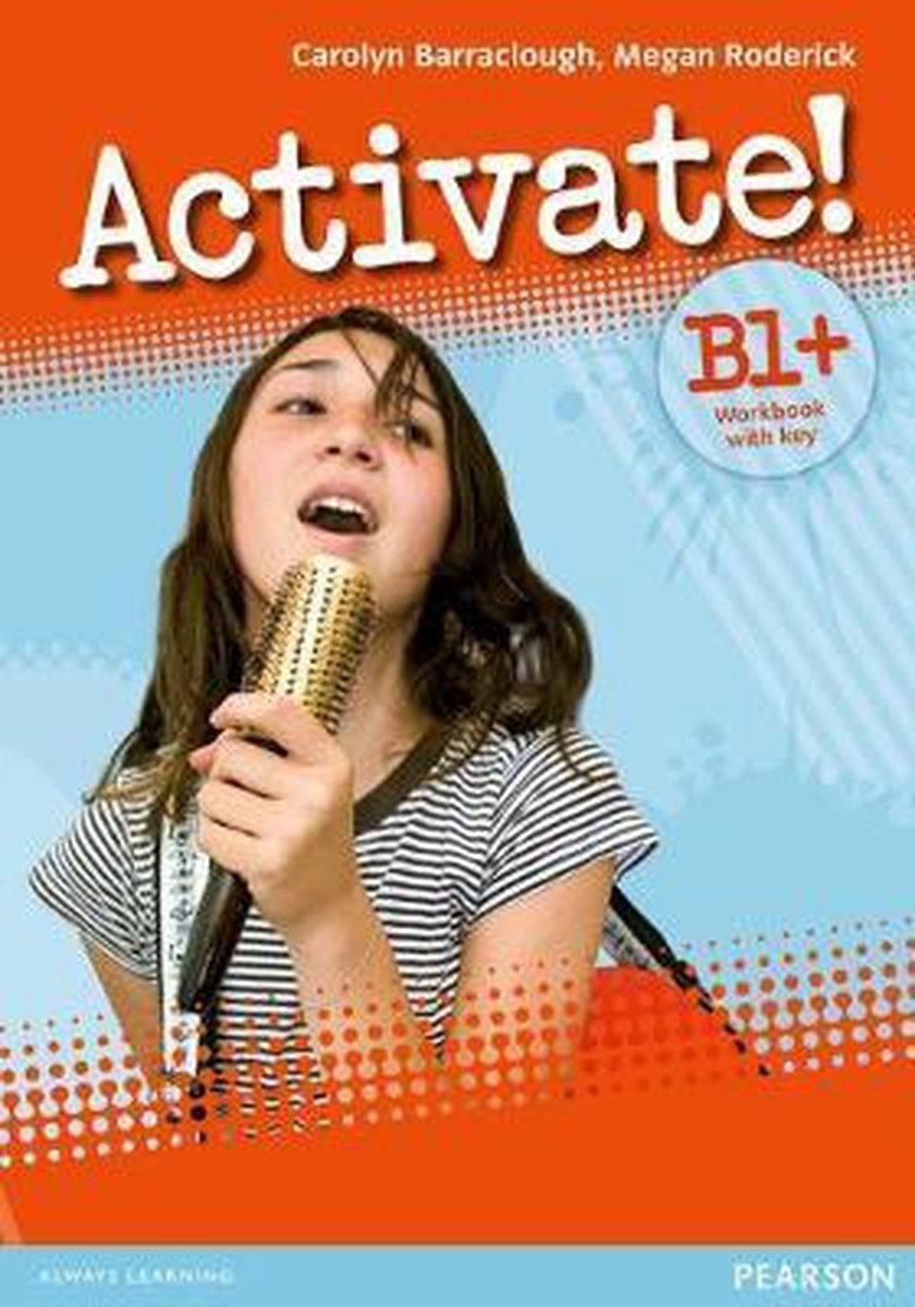 Afbeelding van Activate! B1+ workbook with key + cd-rom