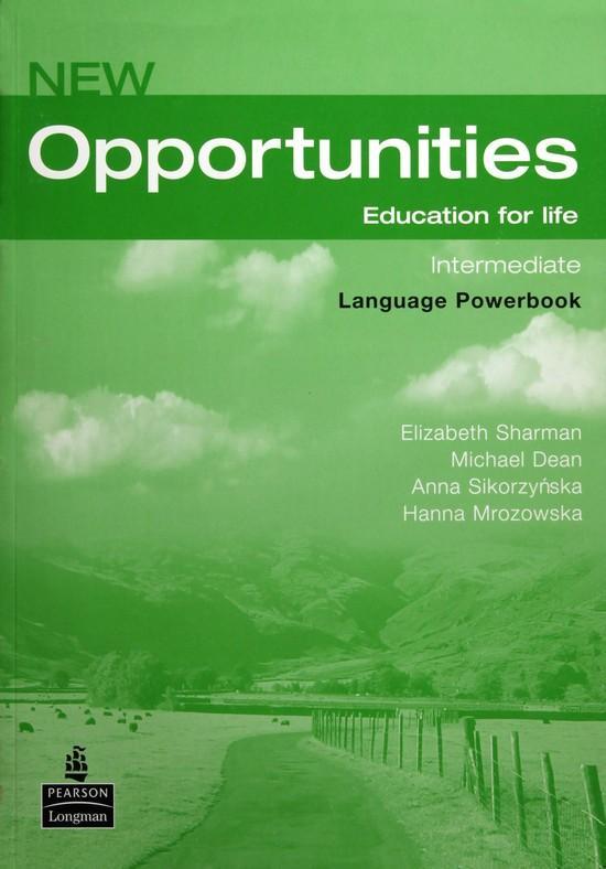 Afbeelding van New Opportunities - Intermediate language powerbook + cd-rom