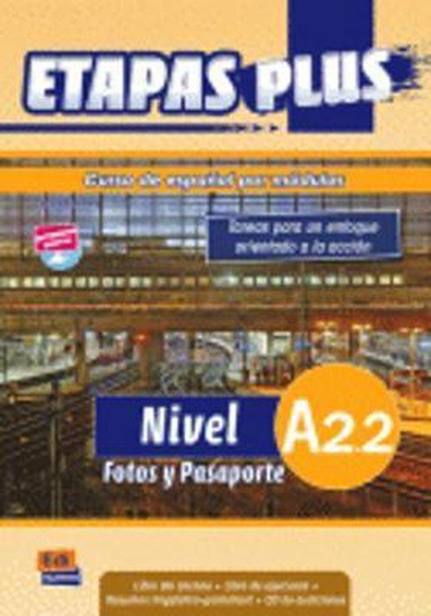 Afbeelding van Etapas Plus A2.2 - Fotos y pasaporte libro del alumno/ejercicios + cd