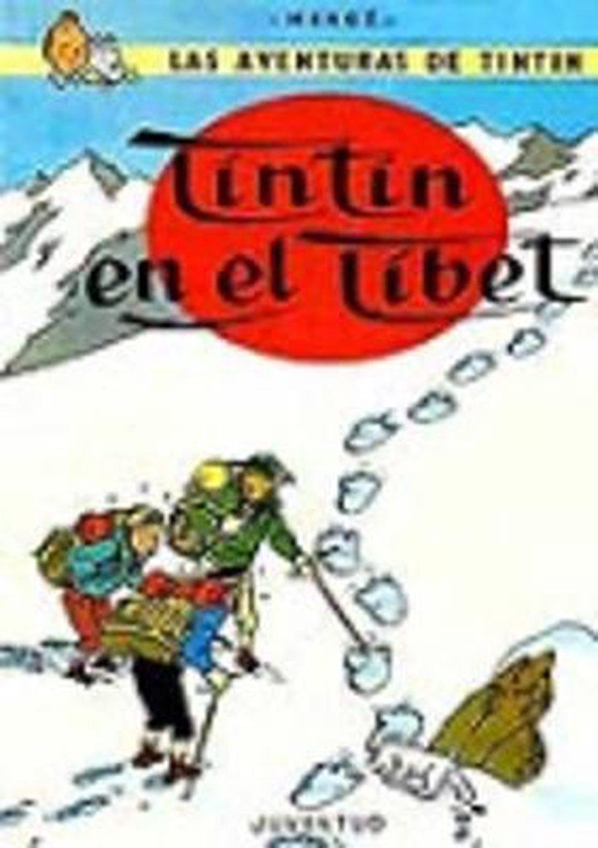 Afbeelding van TinTin en el Tibet cartone